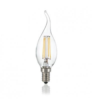 LAMPADINA CLASSIC E14 4W COLPO VENTO TRASP 3000K