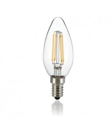 LAMPADINA CLASSIC E14 4W OLIVA TRASPARENTE 3000K