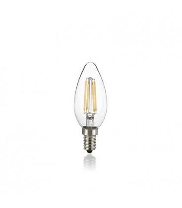LAMPADINA CLASSIC E14 4W OLIVA TRASPARENTE 4000K