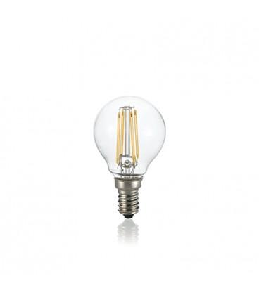 LAMPADINA CLASSIC E14 4W SFERA TRASPARENTE 3000K