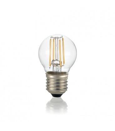 LAMPADINA CLASSIC E27 4W SFERA TRASPARENTE 3000K