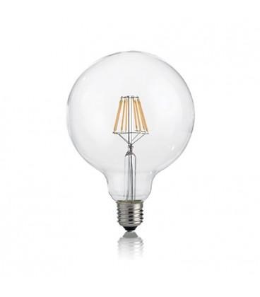 LAMPADINA CLASSIC E27 8W GLOBO D125 TRASP 4000K