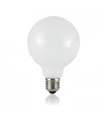 LAMPADINA CLASSIC E27 8W GLOBO D95 BIANCO
