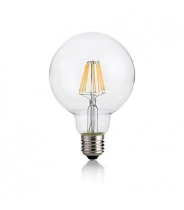 LAMPADINA CLASSIC E27 8W GLOBO D95 TRASP 4000K