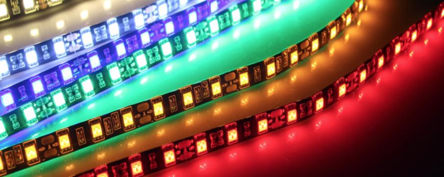 LED juostų panaudojimas